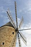 Restored traditional windmill in Sineu