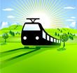 Eisenbahn, Zugstrecke