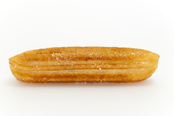 churro on a white background