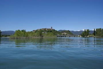 Pueblo del Pirineo, Aínsa