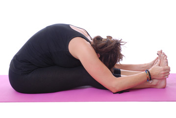 Yoga, Paschimottanasana - Intense stretch of the West