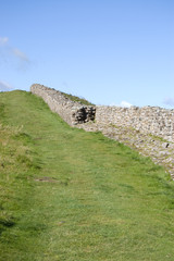 section of Hadrians Wall