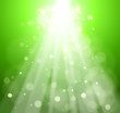 eco green bokeh abstract light background. Vector illustration