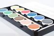 Paints palette