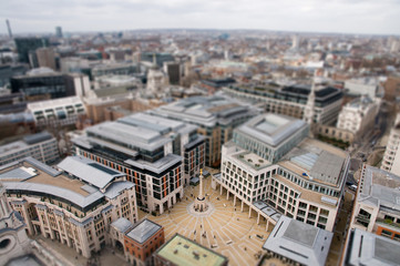Paternoster Square seen from St Paul's Cathedral