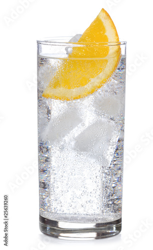 cocktail with gin and orange