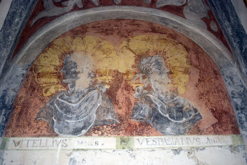 Vitellius and Vespasianus, Forchtenstein, Burgenland, Austria