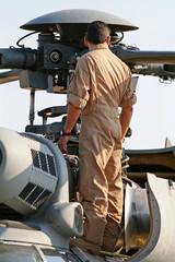 Helicóptero - mantenimiento