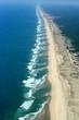 Vue aérienne de l'océan atlantique, gironde, aquitaine, france - 25642207