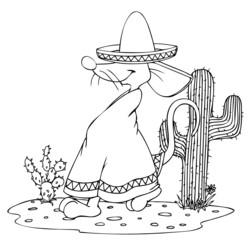 Mexiko, Mexikaner, Maus, Ratte, Sombrero, Fiesta