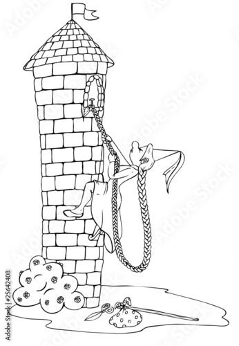 Gamesageddon Rapunzel Märchen Frauenpower Turm Emanzipation