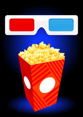 3D movie objects