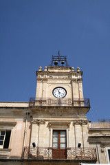 Avola-Torre dell'orologio