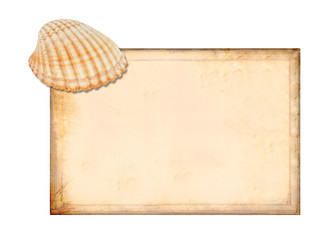 Card with shell