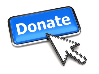 Donate button and arrow cursor
