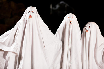 Sehr furchtbare Gespenster an Halloween