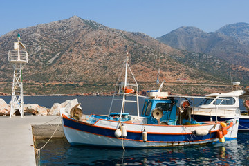 Fishing boats, Crete