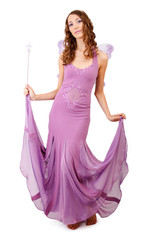 Purple fairy.