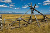 Private Ranch Gate poster