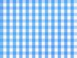 Checkered Bavarian Blue