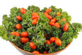 Red Kale with Tomatoes