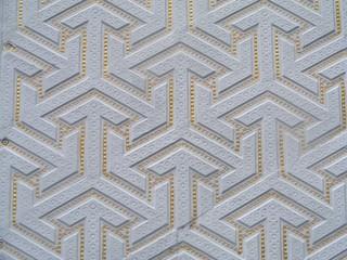 texture wall from moorish pavilion