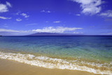 kaanapali beach on maui looking at the island of kahoolawe