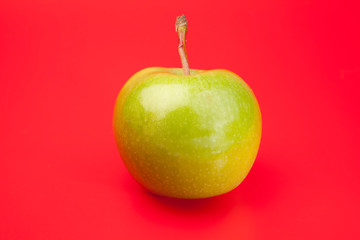 apple bright background