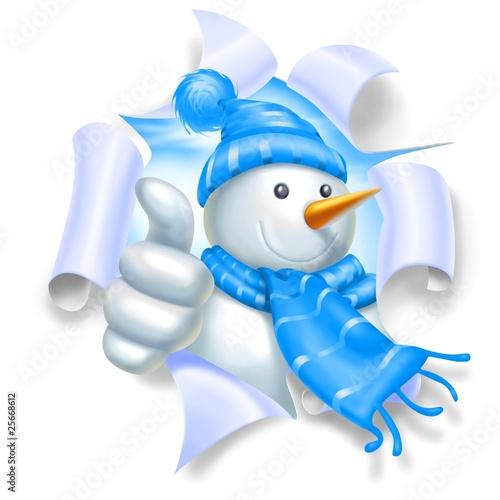 snowman ok strap
