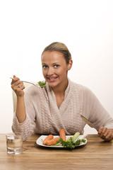 Frau und Gemüse 080910-2