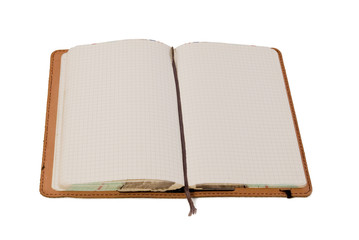 Open Leather Journal
