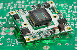 microchip board with sensor