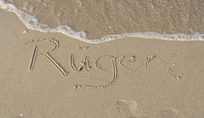 Urlaub am Strand auf Rügen