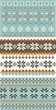 3 snowflake knitting, patterns