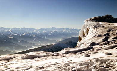 Winter mountain view - Dachstein