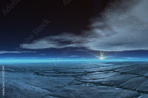 Frozen Tundra - 25687096