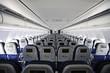 intérieur d'avion cabine passager
