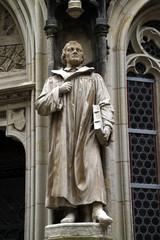 Luther-Statue an der Marienkirche in Pirna