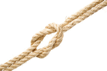 Kreuzknoten freigestellt