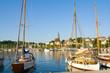 Leinwanddruck Bild - Flensburg