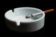 Zigarette im Aschenbecher V3