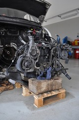 Motore su bancale