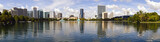Fototapety Downtown Orlando, Florida Skyline Panoramic