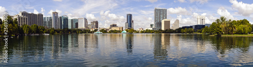 Downtown Orlando, Florida Skyline Panoramic