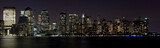 Financial District Manhattan at Night over Hudson - Fine Art prints