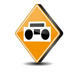 Retro Kassettenrekorder - Vektor 3d