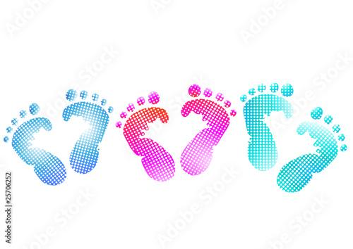 Baby Fußabdruck