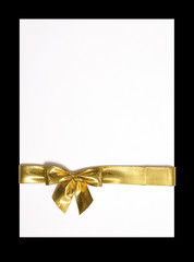Beautiful gold bow