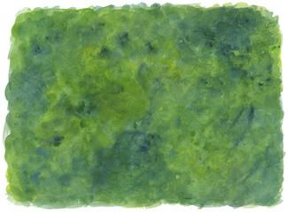 Sfondo verde dipinto ad acquerello