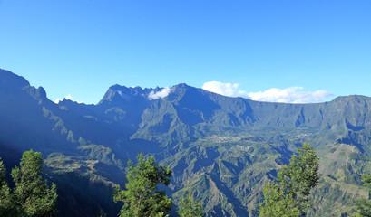 vue sur le cirque de Cilaos, île de la Réunion